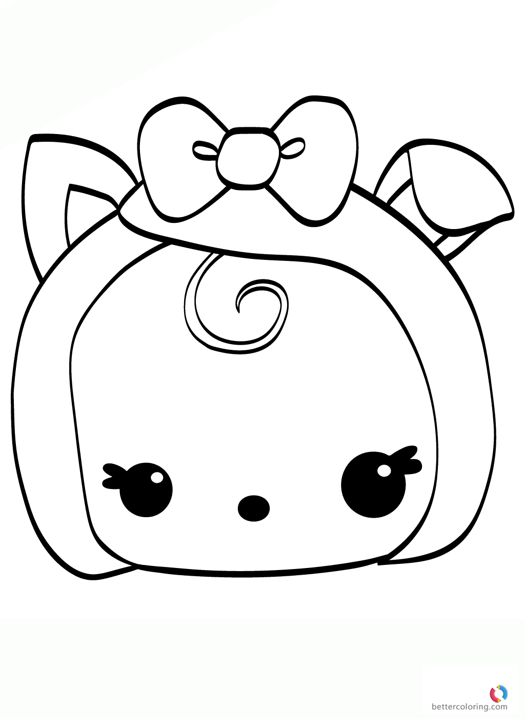 Free printable Num Noms Coloring Pages Becca Bacon