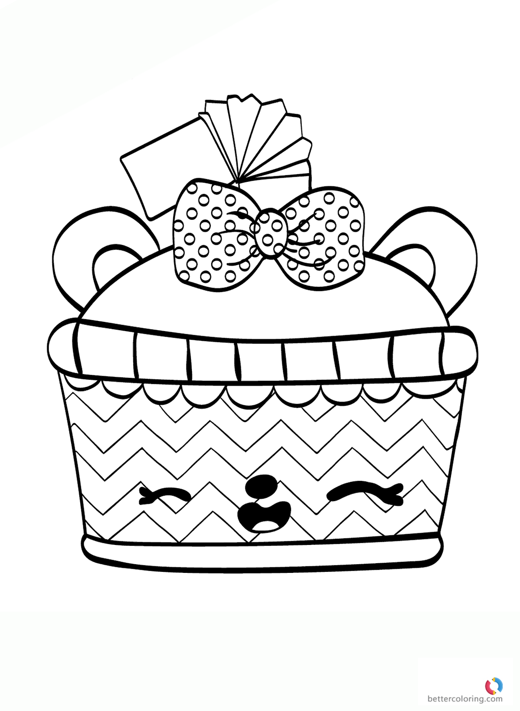 Num noms colouring page cassie cola free printable for Num noms coloring pages free