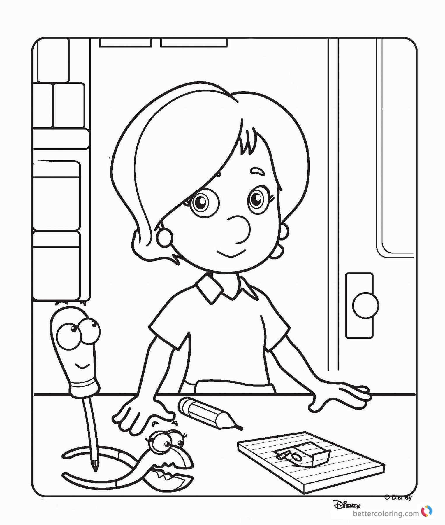 Bob the builder coloring pages free printable coloring pages for Free coloring page maker
