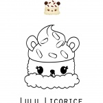 Free printable coloring pages for Licorice coloring page