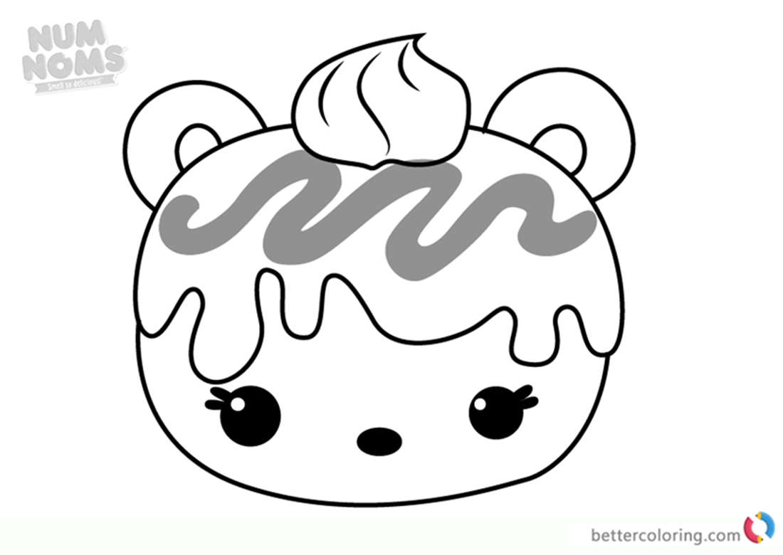 Mac Minty From Num Noms Coloring Pages Free Printable Coloring Pages