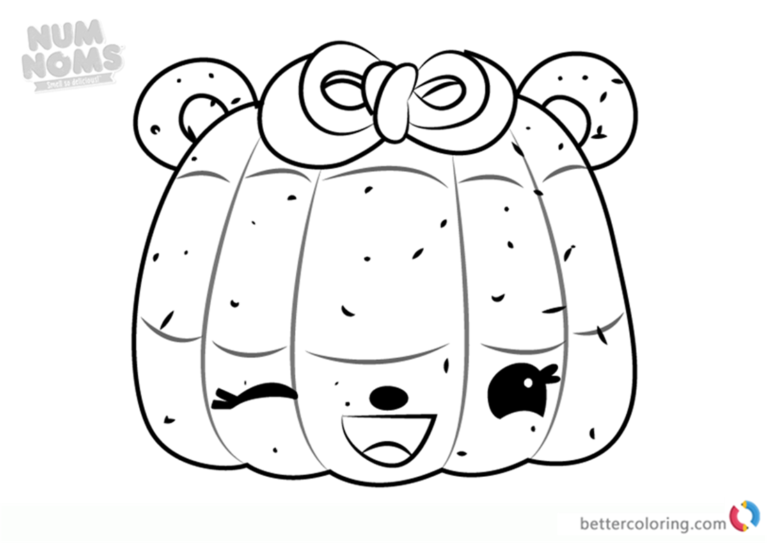 Madelyn Mango Num Noms Colouring Pages Series 1 Free