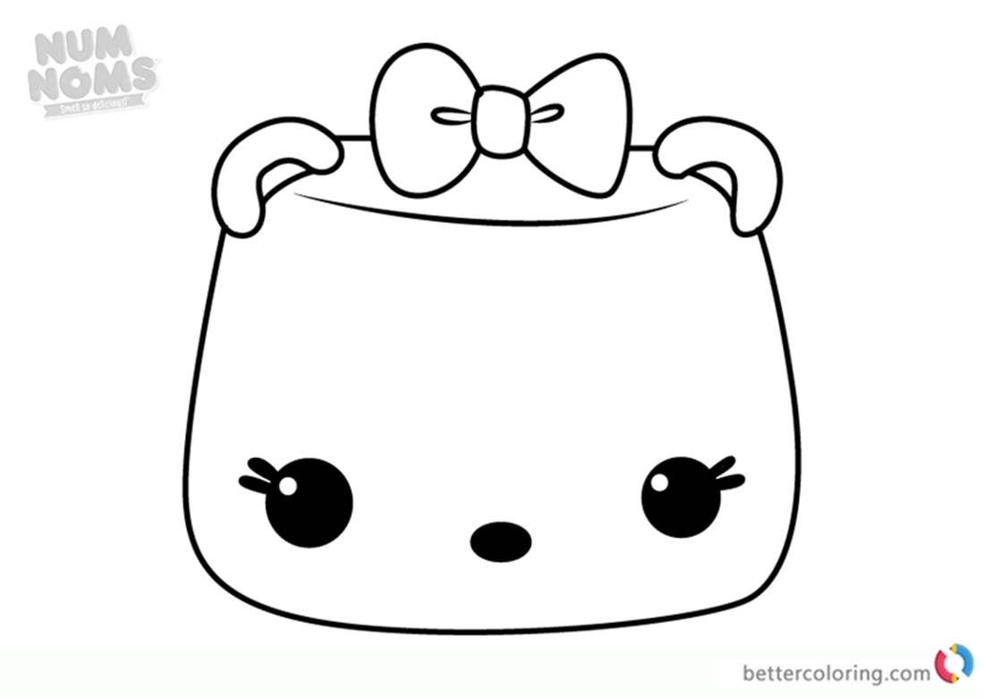 Mallow Erase It Num from Noms Coloring Pages Series 3 Free Printable Coloring Pages