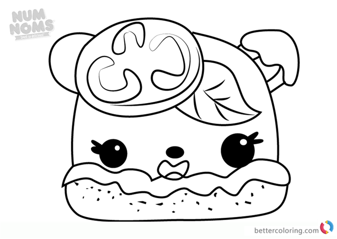 Margo Rita Num Noms Coloring Pages Free Printable