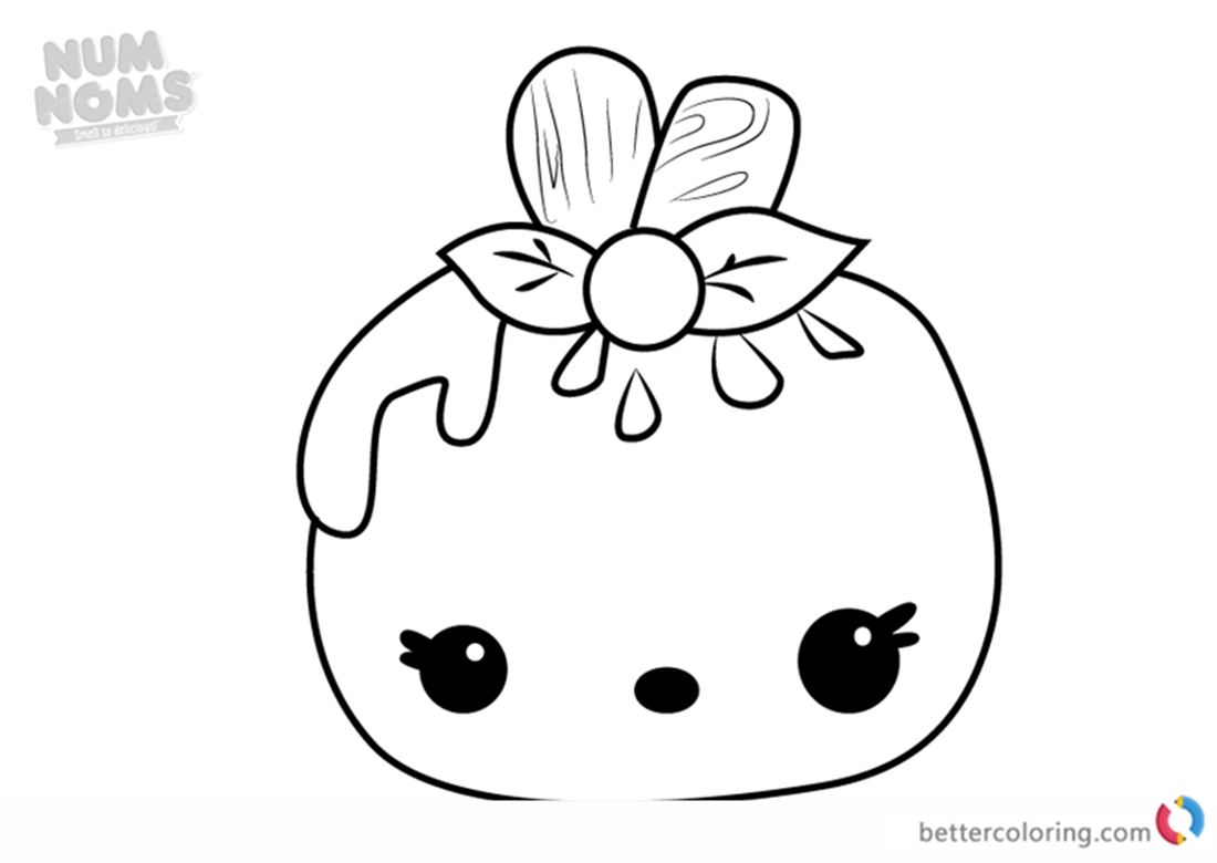 Mellie Pop from Num Noms coloring book printable