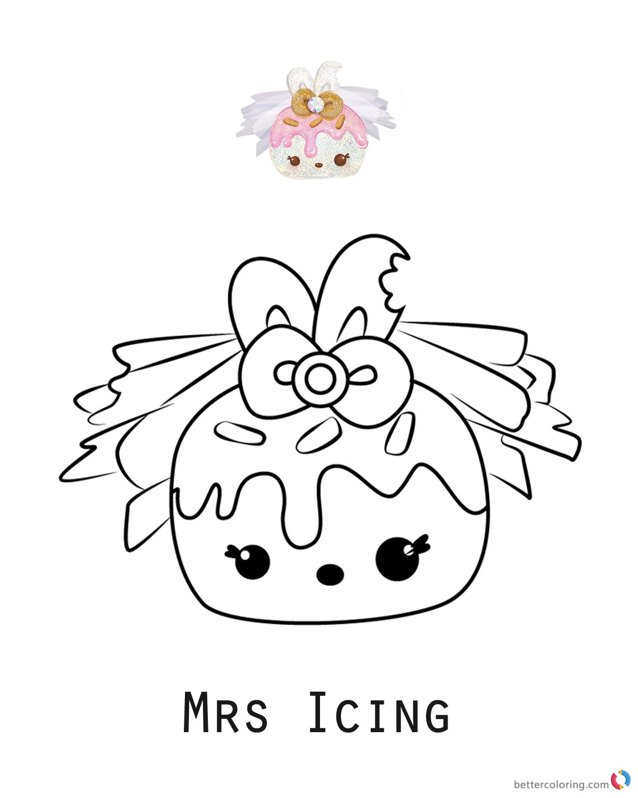 MrsIcing Num Noms Coloring Pages