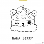 Num Noms Coloring Pages Printable Free