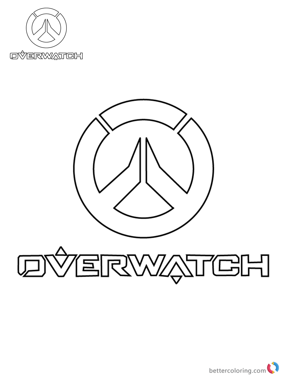 Torbjorn from Overwatch coloring pages printable