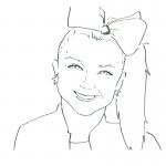 Jojo Siwa Coloring Pages Printable Free