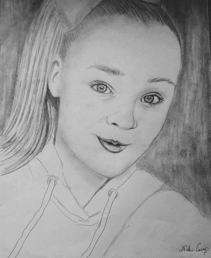 Jojo Siwa Coloring Pages Fanart