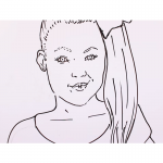 Jojo Siwa Coloring Pages Lol With Stars Free Printable Coloring Pages