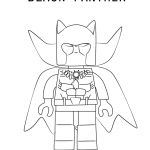Black Panther Mask Coloring Page Free Printable Coloring Pages