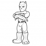 Black Panther LEGO Coloring Pages - Free Printable ...