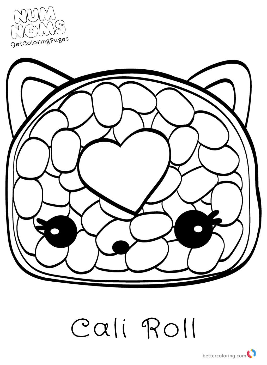 Num noms coloring pages free printable coloring pages for Num noms coloring pages free