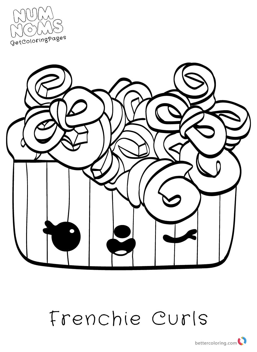 Printable Num Noms Coloring Page Free Printable Coloring Pages