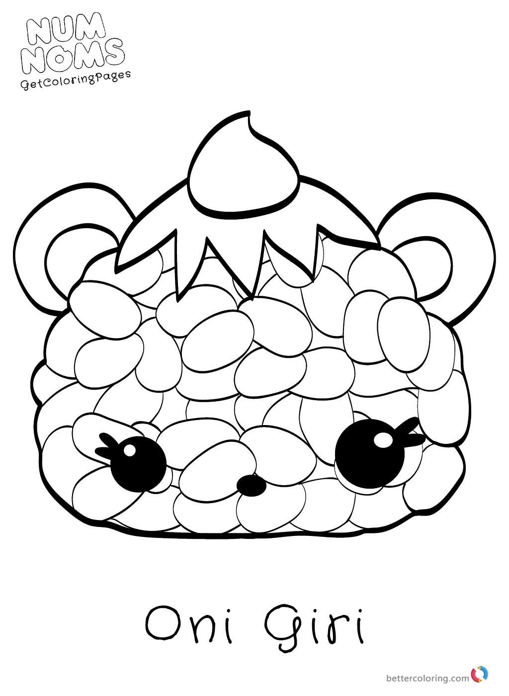 Free Num Noms Coloring Pages Free Printable Coloring Pages