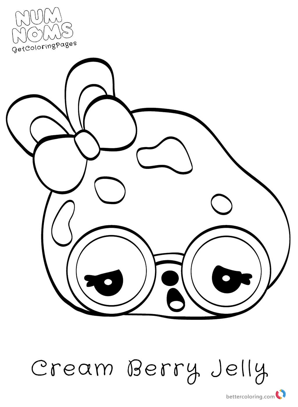 Num Noms Coloring Pages Printable