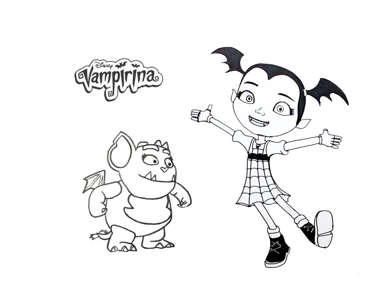 Imagenes De Vampirina Para Colorear