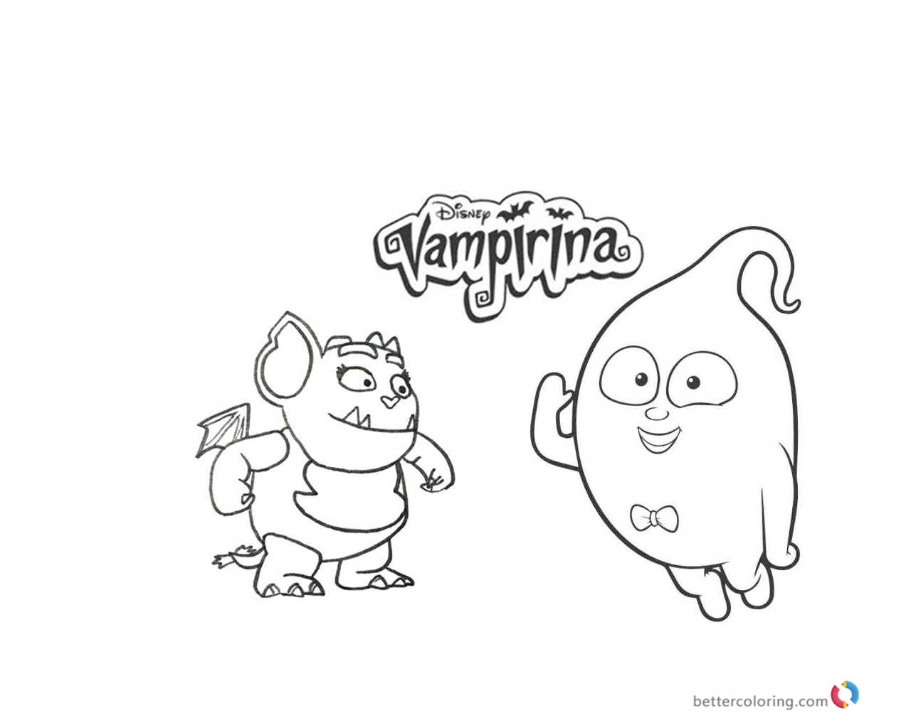 Vampirina Coloring Pages Printable