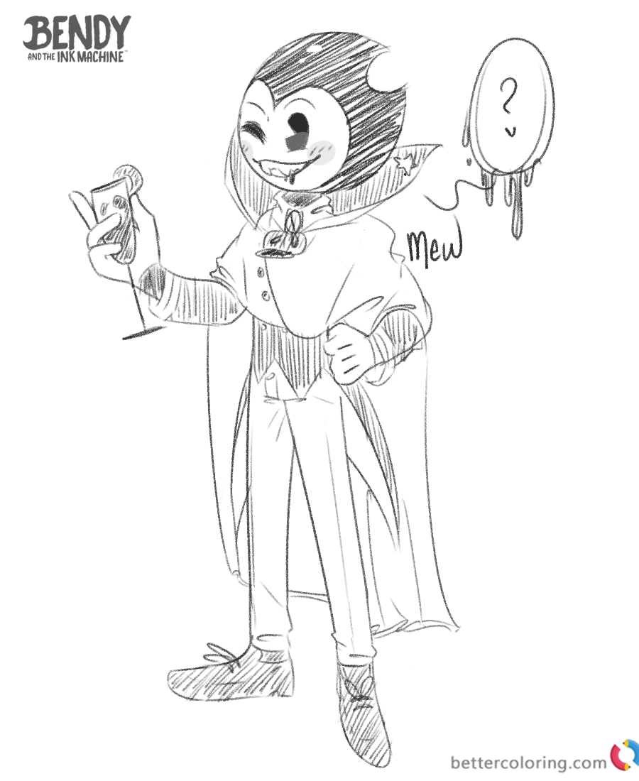 - Get Inspired For Bendy And The Ink Machine Chapter 5 Coloring