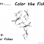 Dr Seuss One Fish Two Fish Coloring Pages Number 4 for Kids