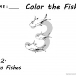 Dr Seuss One Fish Two Fish Coloring Pages Number 3