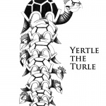 Dr Seuss Yertle the Turtle Coloring Fan Drawing