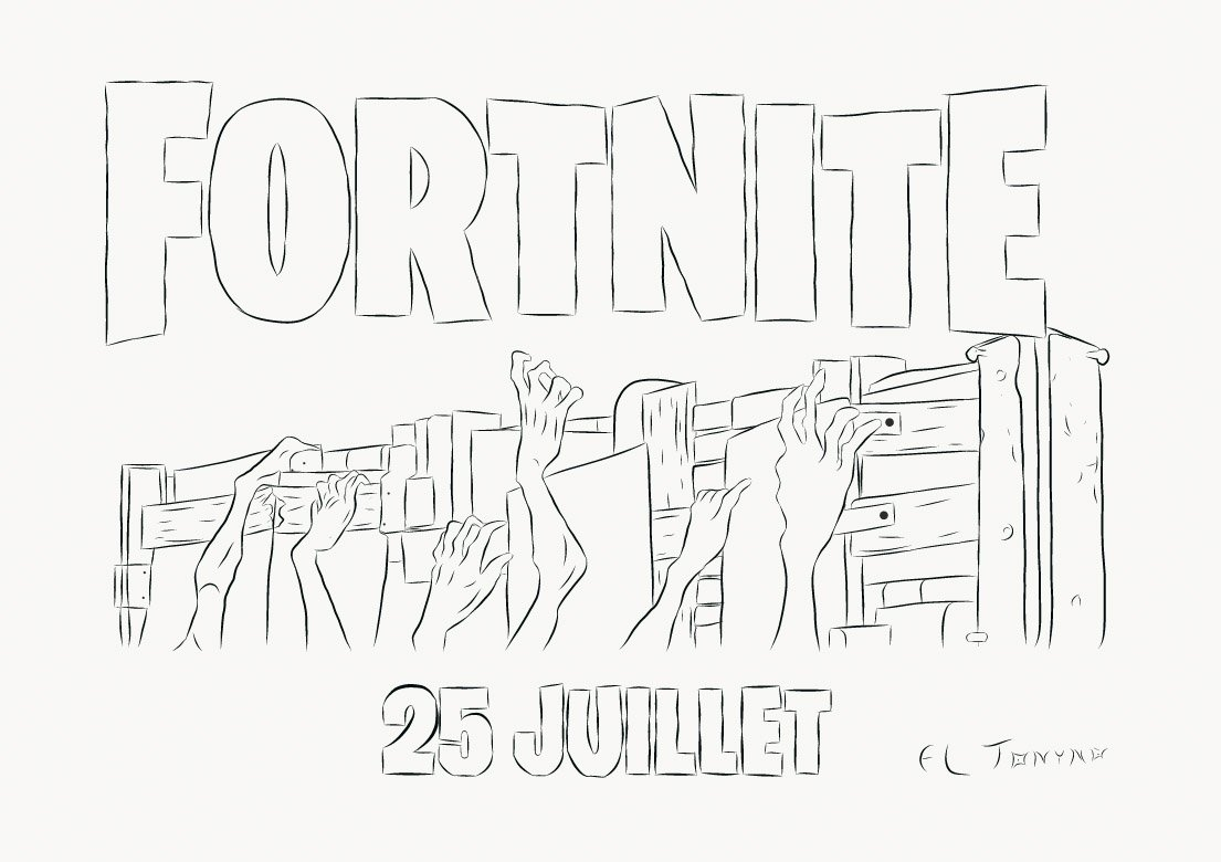 download this coloring page - fortnite pictures to color