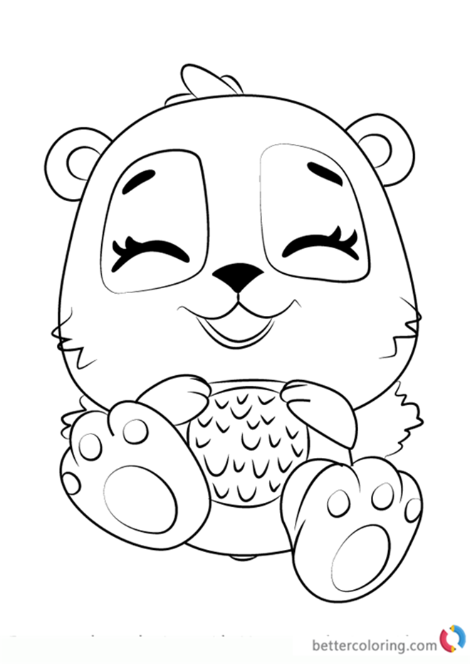 hatchimals coloring pages getcoloringpagescom sketch