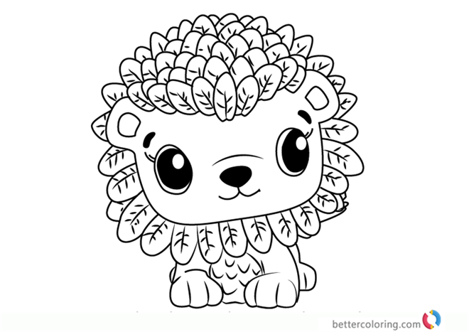 Leoriole from Hatchimals coloring pages printable