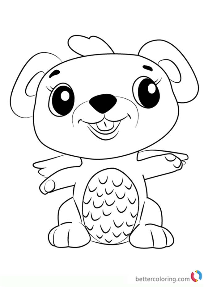 Mouseswift from Hatchimals coloring pages printable