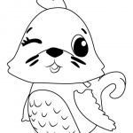Mouseswift From Hatchimals Coloring Pages Free Printable Coloring
