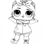 LOL Surprise Doll Coloring Pages Can Do Baby