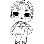 LOL Surprise Doll Coloring Pages Sis Swing