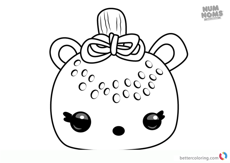 Num Noms Coloring Pages Series 2 Kiwi Freezie Free