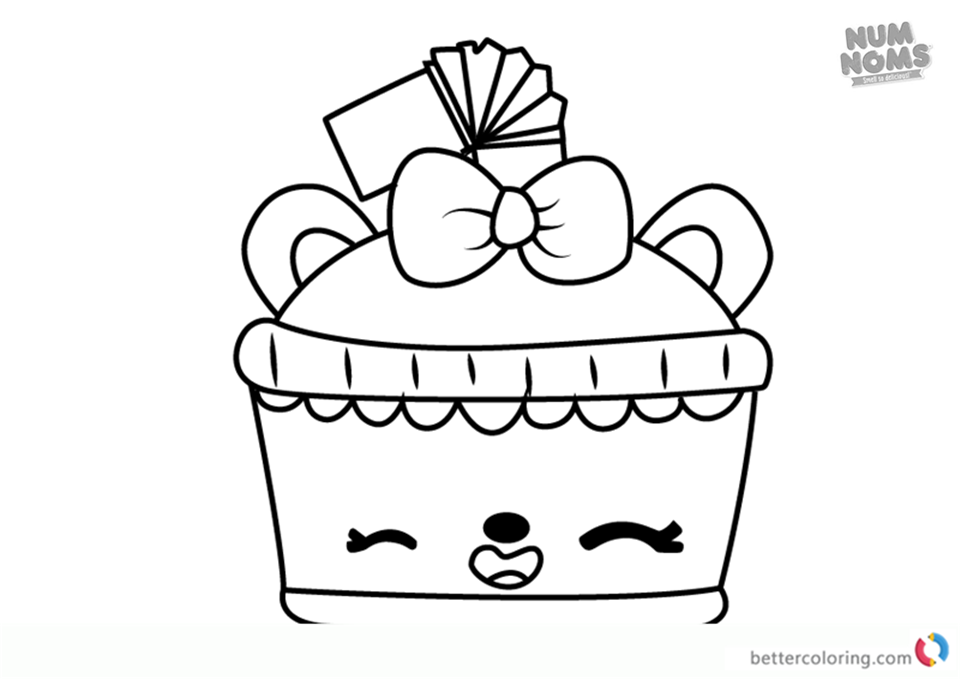 Lemony Cola from Num Noms coloring pages printable