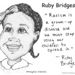 Ruby Bridges Coloring page for Kids