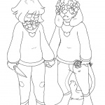 Undertale coloring pages by warrioratheart