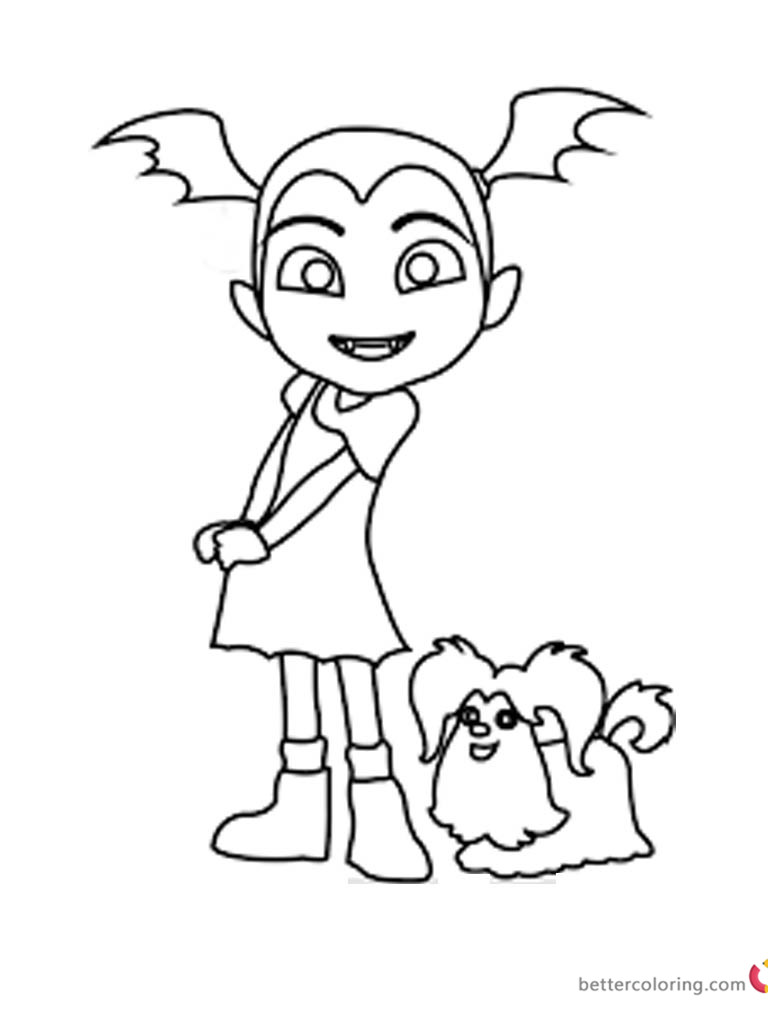 Vampirina Coloring Pages Pictures