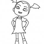 Vampirina coloring pages fan art