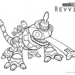 dinotrux Revvit coloring pages