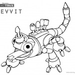 Dinotrux Revvit coloring pages black and white