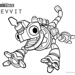 Dinotrux coloring pages Revvit running