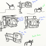 Dinotrux coloring pages fan art