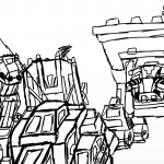 dinotrux coloring pages zero fucks given by halonna