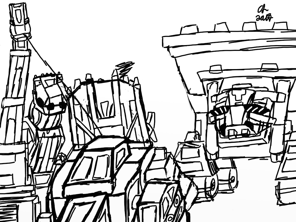 Dinotrux coloring pages worked by halonna - Free Printable Coloring ...