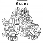 dinotrux garby coloring pages
