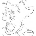 dr seuss coloring pages HORTON