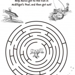 dr seuss coloring pages get the fish