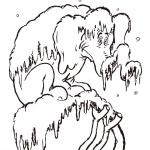 Dr Seuss coloring pages winter HORTON